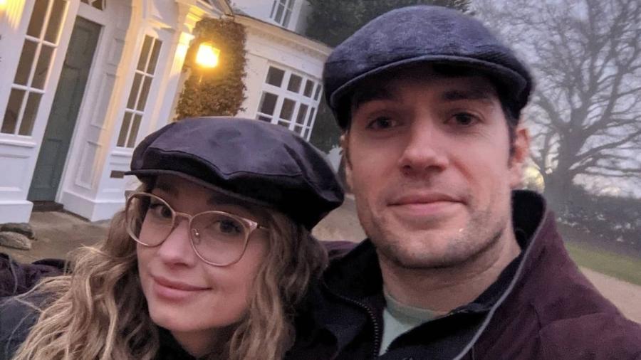 Henry Cavill e a namorada Natalie Viscuso - Instagram/Reprodução