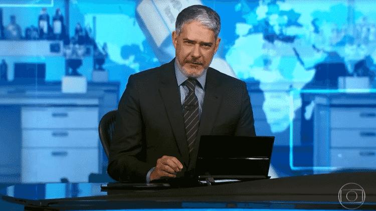 Bonner - Reprodução/TV Globo - Reprodução/TV Globo