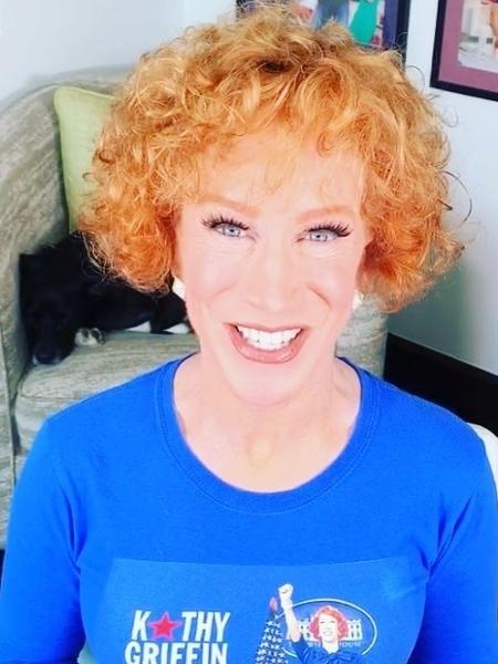 Após anunciar câncer, comediante Kathy Griffin faz cirurgia para retirada de parte do pulmão - Reprodução/Instagram