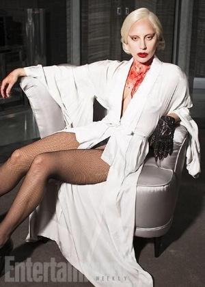"""Lady Gaga em """"American Horror Story"""" - Reprodução/Twitter/ladygaga"""