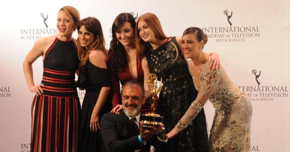 Novela 'Império' leva Emmy 2015