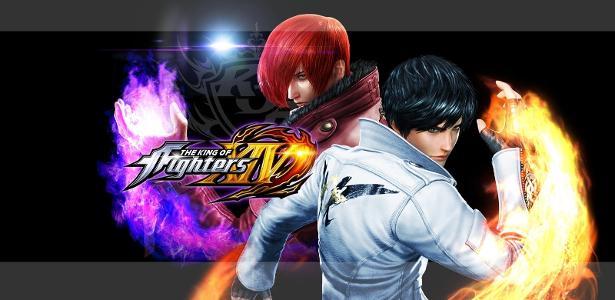"""""""The King of Fighters XIV"""" é o jogo mais recente da série."""