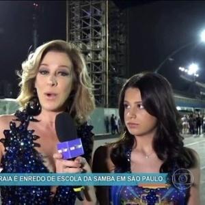 Filha de Cláudia Raia irá representar a mãe em escola de samba paulistana