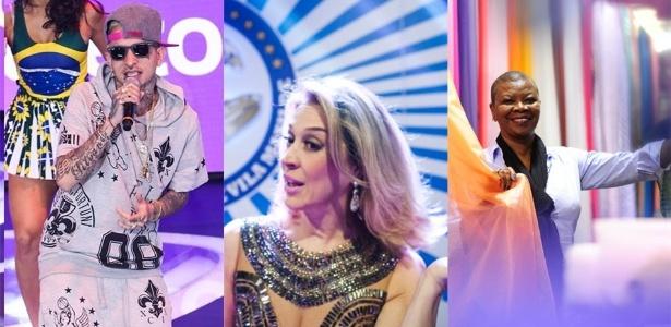 MC Guimê, Claudia Raia e Pinah estarão no Anhembi nesta sexta-feira (5)