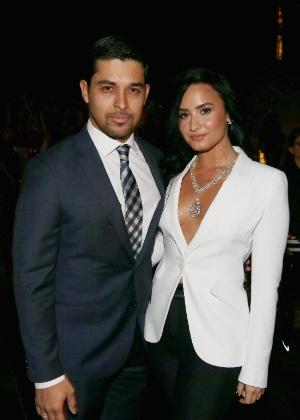 3.jun.2016 - O ator Wilmer Valderrama e a cantora Demi Lovato namoraram por seis anos - Getty Images Entertainmen