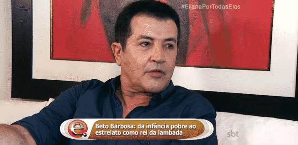 """Beto Barbosa revela que teve um """"affair"""" com Gretchen 20 anos atrás  - Reprodução/SBT.com.br"""