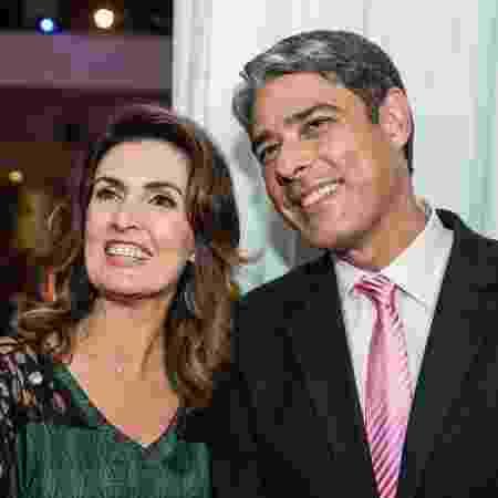 Fátima Bernardes e William Bonner anunciaram em agosto o fim do casamento - Folhapress - Folhapress