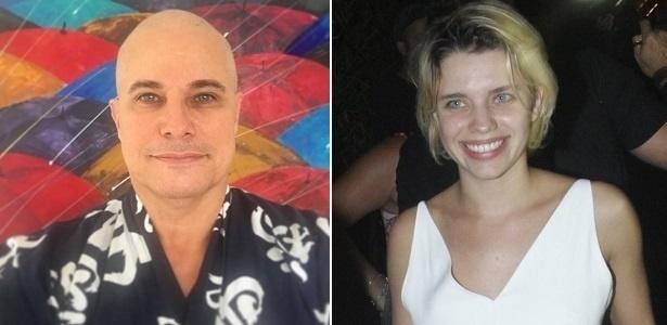 """Edson Celulari e Bruna Linzmeyer, pai e filha em """"À Flor da Pele"""", próxima novela de Glória Perez - Montagem/UOL"""
