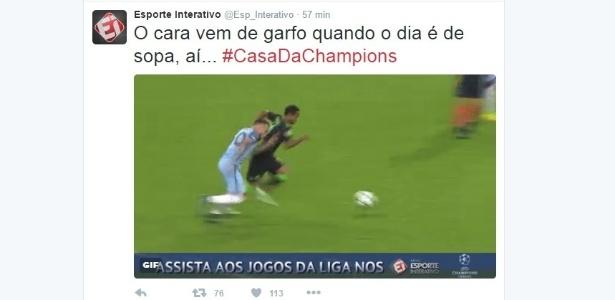 Esporte Interativo usa a hashtag #ACasadaChampions - Reprodução