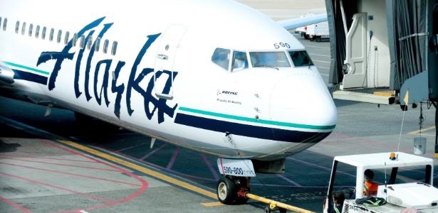 O episódio ocorreu em um voo da companhia Alaska Airlines - Getty Images