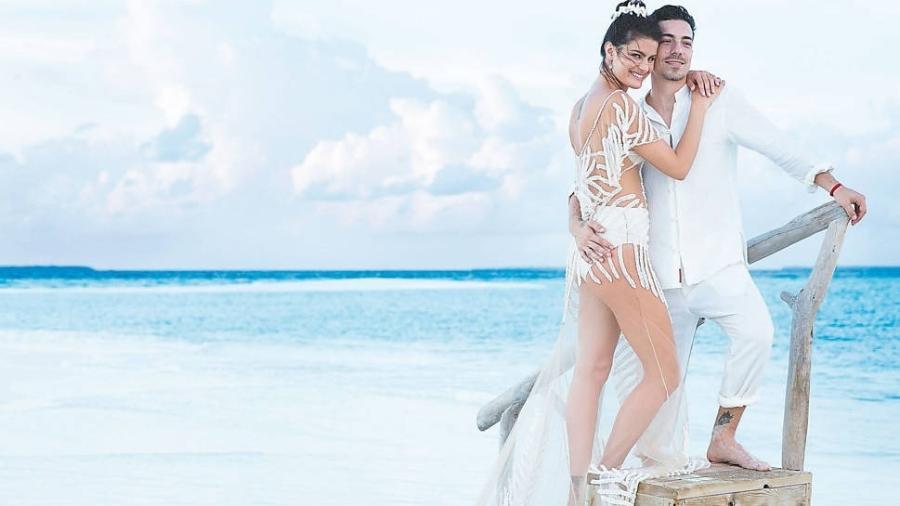 A top model Isabeli Fontana e o músico Di Ferrero se casaram em agosto de 2016 - Eduardo Rezende/Folhapress