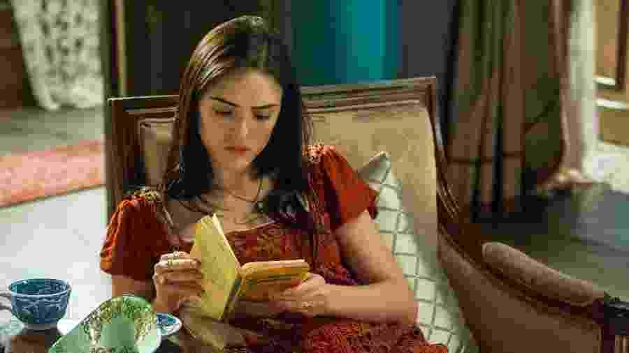 Isabelle Drummond, a escritora Anna de Novo Mundo - Estevam Avellar / TV Globo