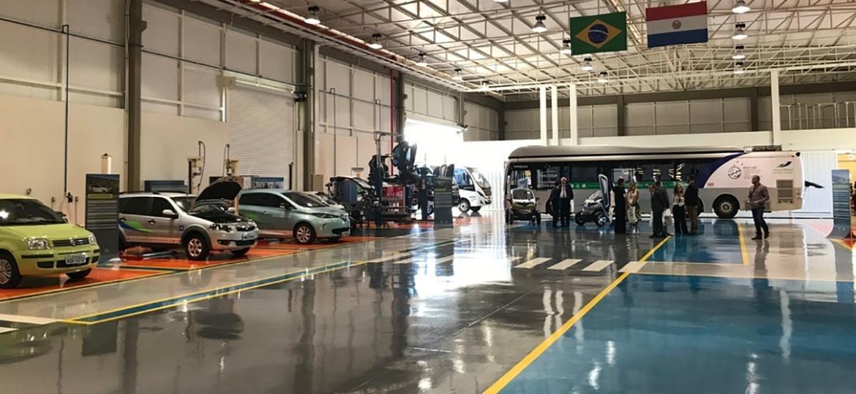 Itaipu inaugura Centro de Inovação em Mobilidade Elétrica Sustentável (CIMES), prédio na sede de Foz do Iguaçu (PR) que conta com laboratórios, oficinas e showroom de elétricos - Alessandro Reis/UOL