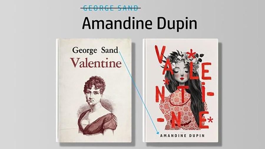 Projeto criou capas de livros com os nomes verdadeiros das escritoras - Divulgação