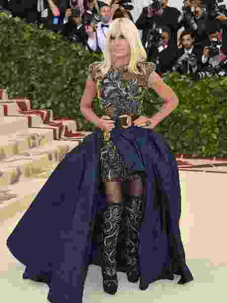 Donatella Versace - Getty Images