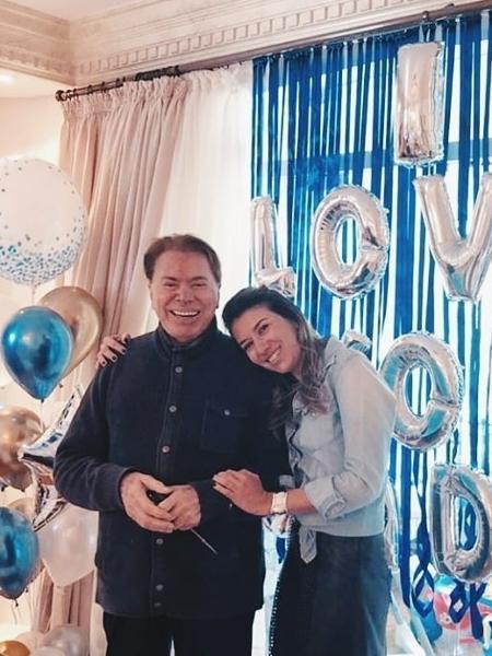 Silvio Santos ganhou homenagem da filha Rebeca - Reprodução / Instagram