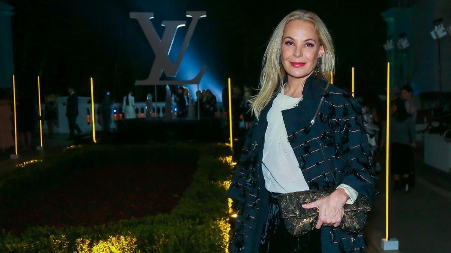 Carolina Ferraz prestigia jantar da grife Louis Vuitton em São Paulo - Manuela Scarpa/Brazil News