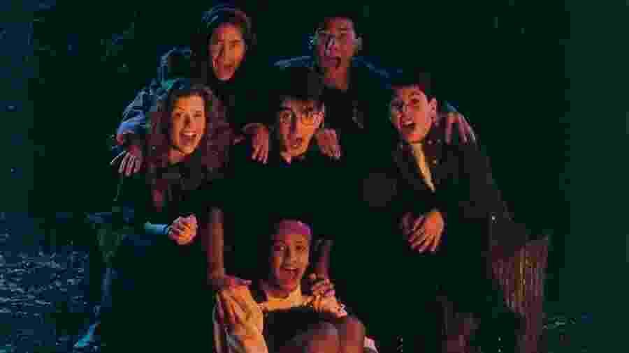 """""""Clube do Terror"""", da Nickelodeon: histórias de terror em volta de fogueira - Divulgação"""