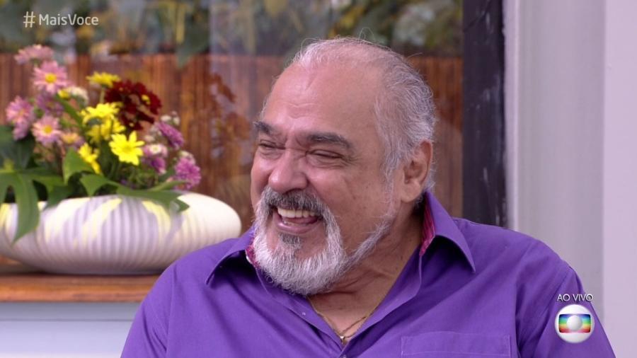 """Roberto Bonfim no """"Mais Você"""" - Reprodução/Globo"""