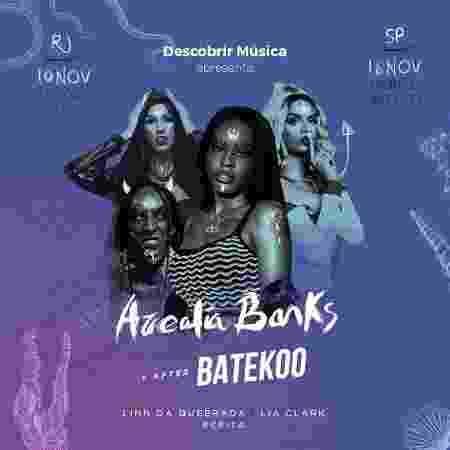 Azealia Banks vem ao Brasil em novembro - Divulgação