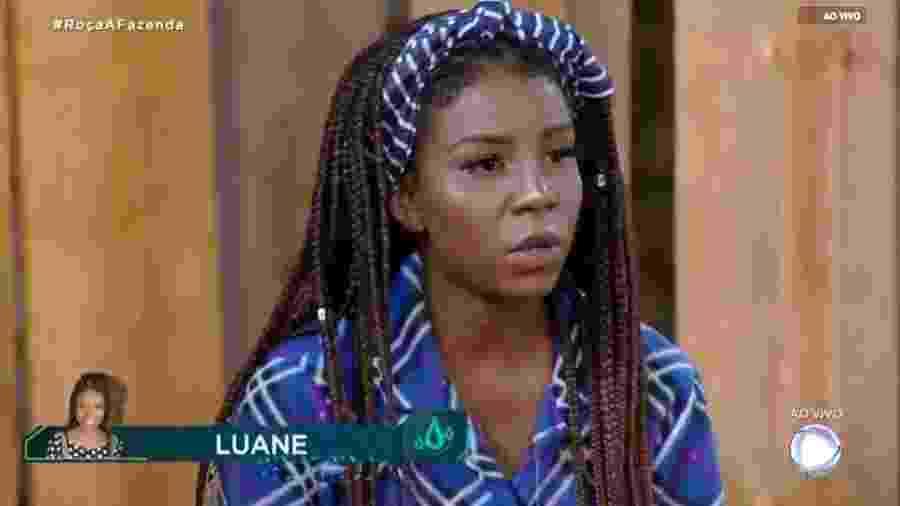 Luane Dias revela dramas pessoas durante programa ao vivo  - Reprodução/RecordTV