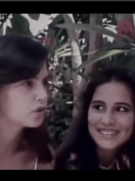 Lídia Brondi e Glória Pires em vídeo antigo - Reprodução/Instagram