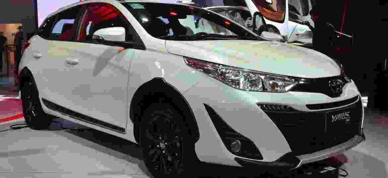 Toyota Yaris X-Way foi revelado durante o Salão do Automóvel de São Paulo, em novembro passado - Divulgação