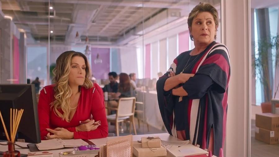 """Ingrid Guimarães em cena de """"De Pernas para o Ar 3"""" - Reprodução"""