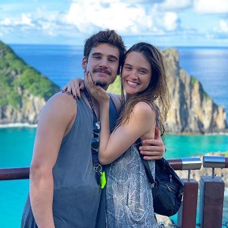 Juliana Paiva e Nicolas Prattes curtem férias em Fernando de noronha  - Reprodução/Instagram