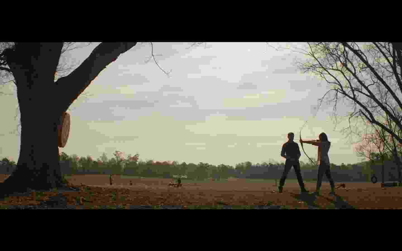 """Clin Barton (Jeremy Renner) em cena do trailer de """"Vingadores: Ultimato"""" - Reprodução/YouTube"""