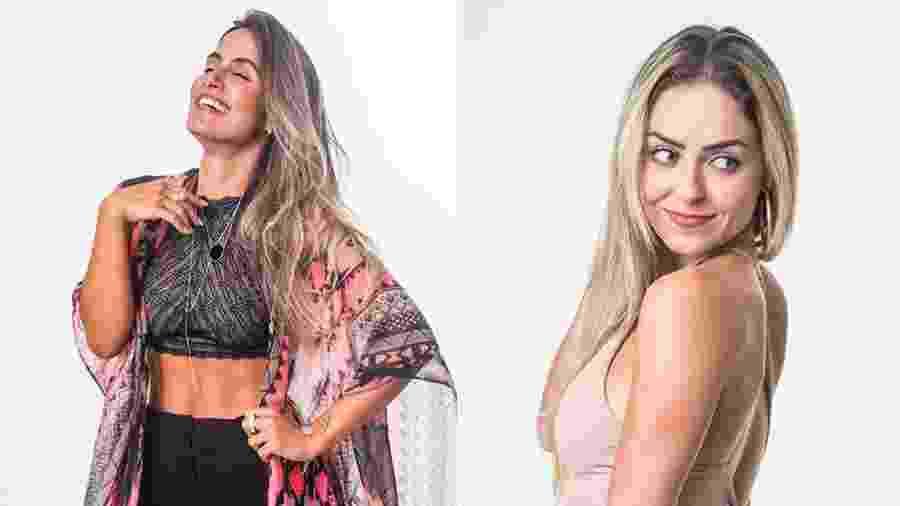 """Carolina e Paula formam o décimo terceiro paredão do """"BBB19"""" - Montagem/Globo/Victor Pollak"""