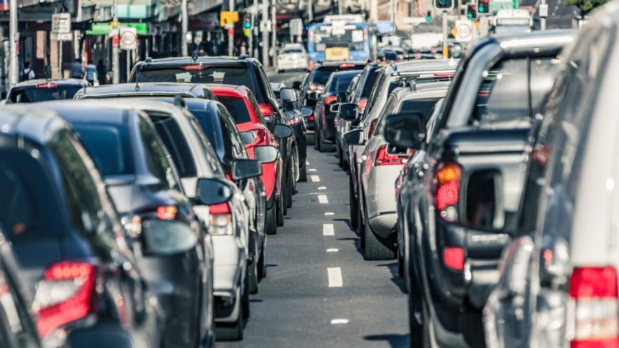 Em São Paulo, o motorista inalou 35% do total de partículas do trajeto de uma hora em apenas oito minutos  - BeyondImages/Istock