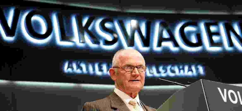 Ferdinand Piëch abre encontro anual de acionistas do Grupo Volkswagen em Hamburgo, no ano de 2008 - Morris Mac Matzen/Reuters 24/04/2008