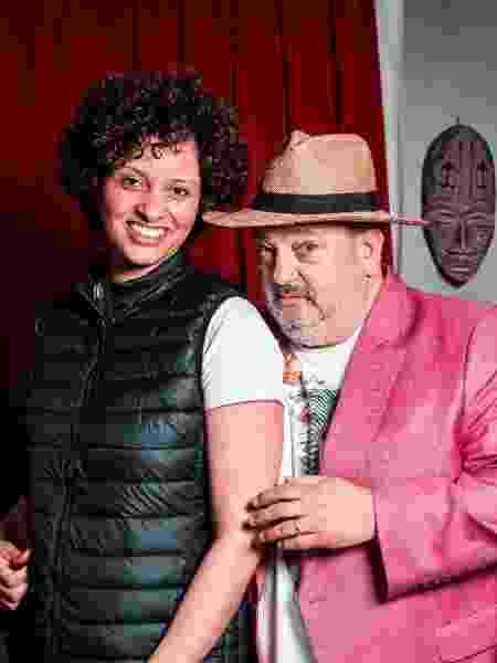 Rosangela diz que se assusta às vezes com o assédio provocado pelo sucesso do marido famoso - Lucas Seixas/UOL