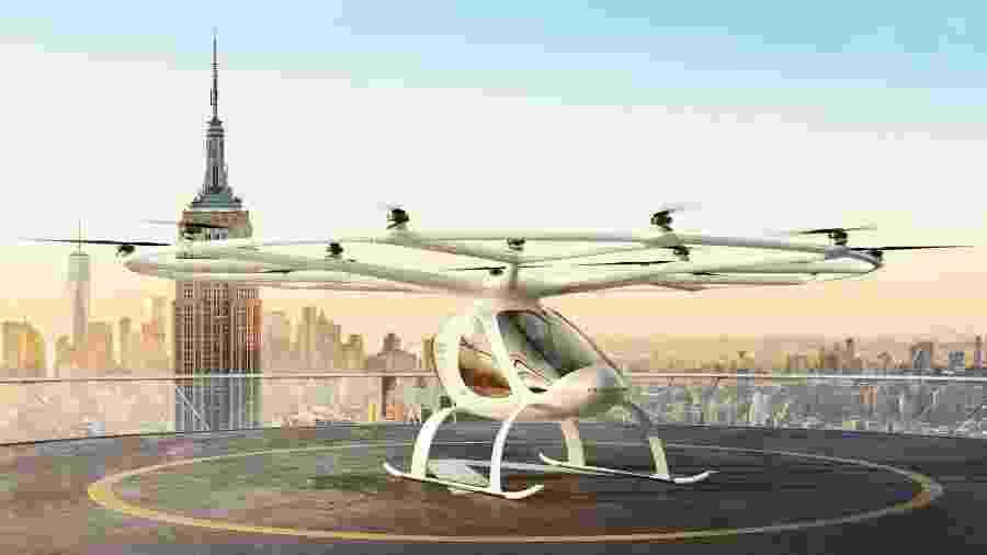Táxi aéreo Volocopter - Divulgação