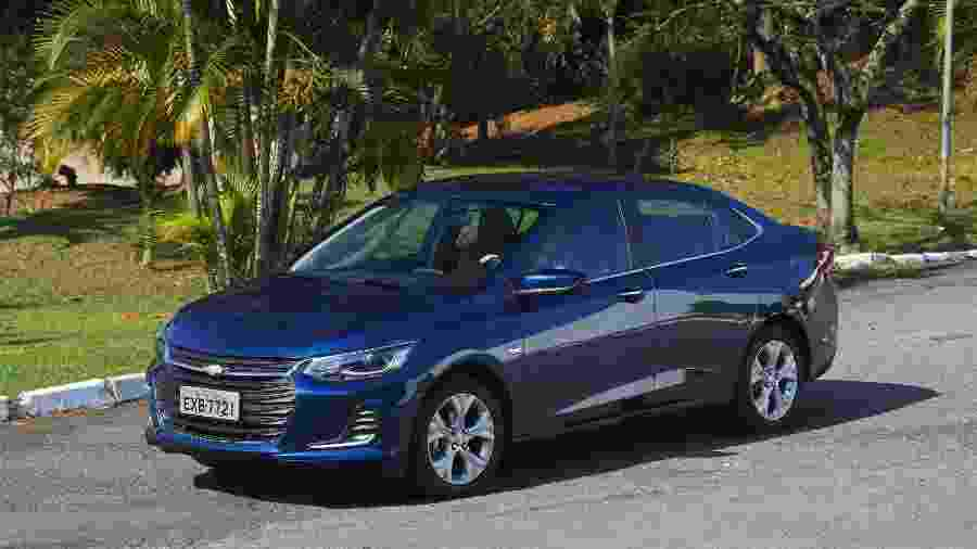 Chevrolet Onix Plus Premier - Murilo Góes/UOL