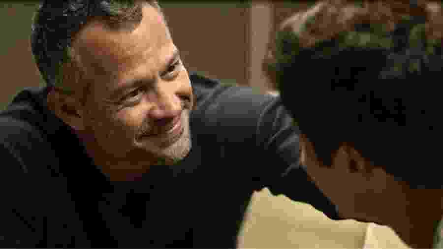 Agno (Malvino Salvador) e Leandro (Guilherme Leicam) - Globo