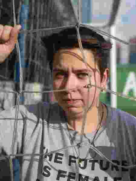 Nayara Perone, criadora do projeto Joga Miga, de futebol feminino - Amanda Perobelli/UOL