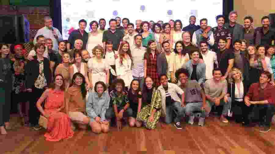 """Lançamento de """"Amor Sem Igual"""" da Record - Thyago Andrade/ Brazil News"""