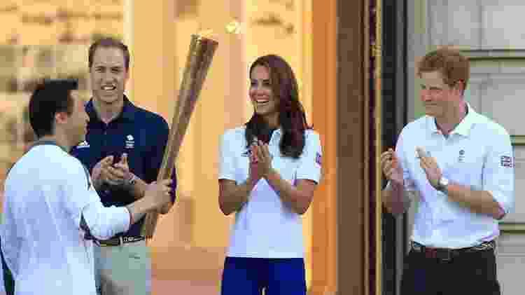O príncipe foi um dos embaixadores da Olimpíada nos jogos de Londres em 2012 - Getty Images