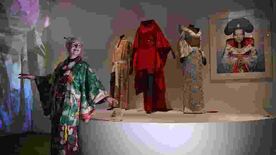 As várias versões do quimono no mundo da moda - DANIEL LEAL-OLIVAS / AFP