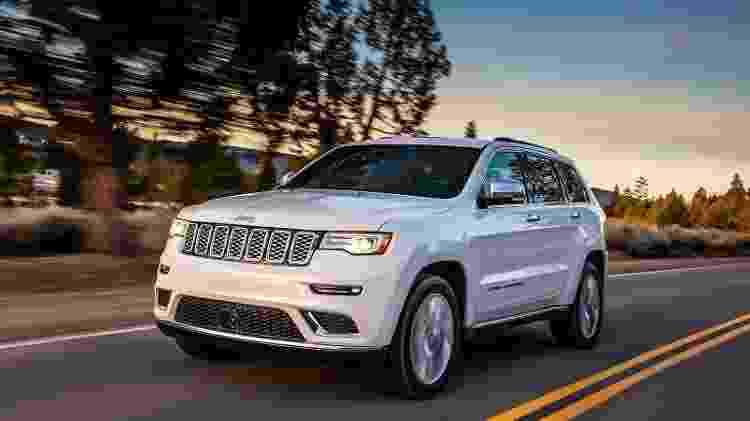 Jeep Grand Cherokee Summit é a versão mais cara e completa do SUV na Itália - Divulgação