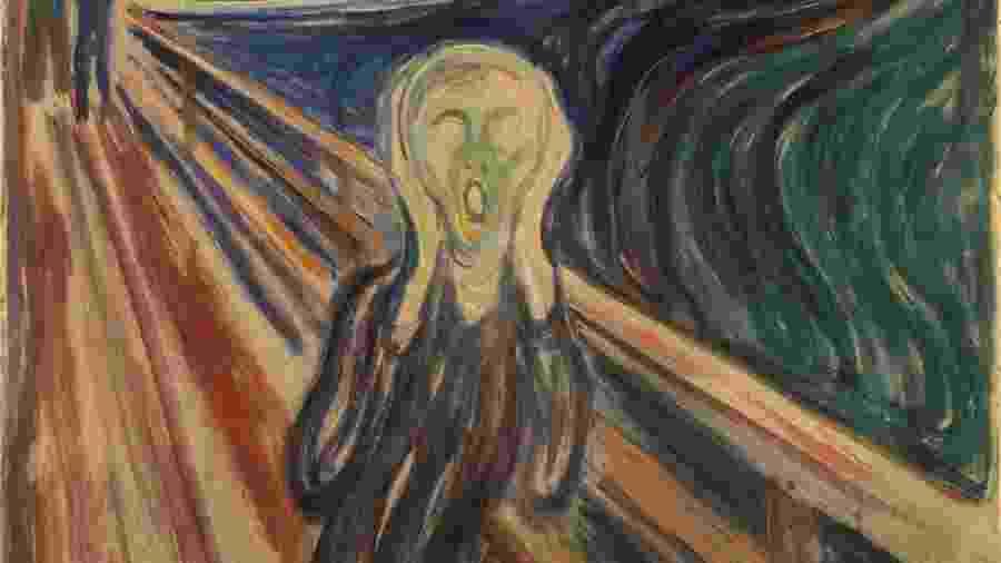 O Grito. - Edvard Munch