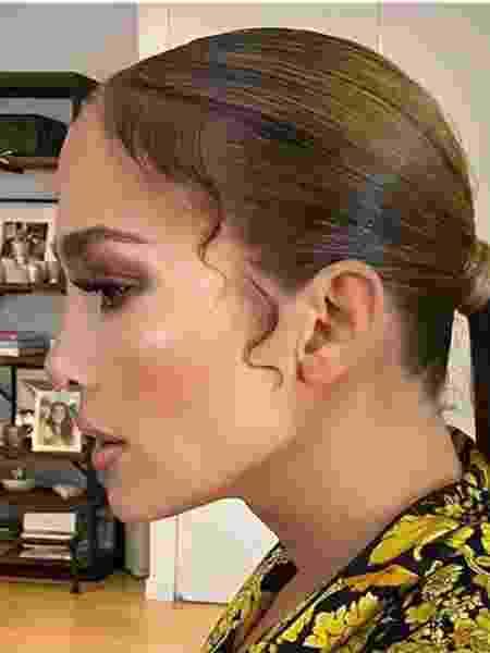 O baby hair de Jennifer Lopez para evento de gala - Reprodução/Instagram