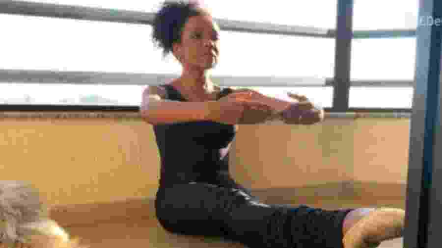 Thelma Assis, do BBB 20, voltou a fazer balé - Reprodução/Instagram