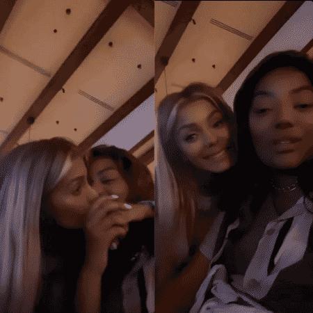 Ludmilla e Brunna Gonçalves nas Maldivas - Reprodução/Instagram/@ludmilla