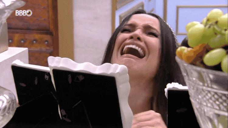 BBB 21: Juliette se emociona ao ver fotos da família - Reprodução/Globoplay - Reprodução/Globoplay
