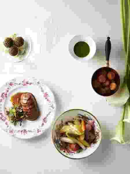 Jantar de luxo no Le Grand Contro?le tem cinco etapas - Reprodução Instagram - Reprodução Instagram