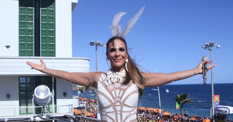 """6.fev.2016 - Ivete Sangalo começa a folia neste sábado com a nova música, """"O Farol"""", e antigos sucessos, como """"Levada Louca"""""""