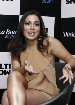 """Anitta será a apresentadora da terceira temporada de """"Música Boa Ao Vivo"""" - AgNews"""
